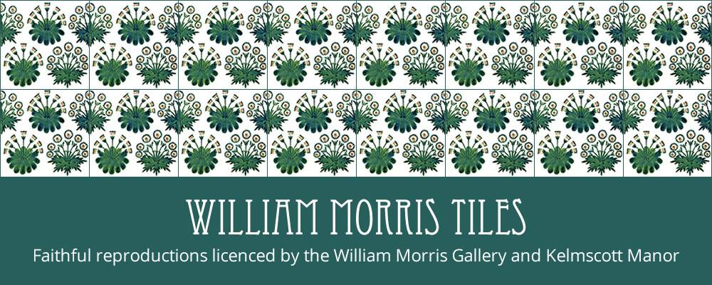 licenced by the William Morris Gallery and Kelmscott Manor